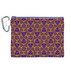 Sacred Geometry Hand Drawing 2 Canvas Cosmetic Bag (xl)