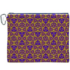 Sacred Geometry Hand Drawing 2 Canvas Cosmetic Bag (xxxl)