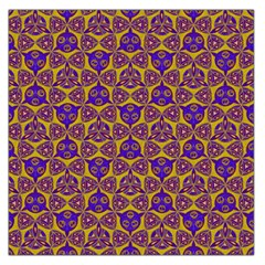 Sacred Geometry Hand Drawing 2 Large Satin Scarf (square)