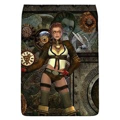 Steampunk, Steampunk Women With Clocks And Gears Flap Covers (s)