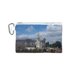 Buckingham Palace Statue Canvas Cosmetic Bag (s)