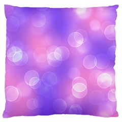 Soft Lights Bokeh 1 Large Cushion Case (two Sides)