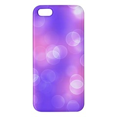 Soft Lights Bokeh 1 Apple Iphone 5 Premium Hardshell Case