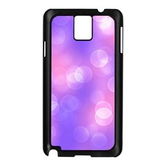 Soft Lights Bokeh 1 Samsung Galaxy Note 3 N9005 Case (black)