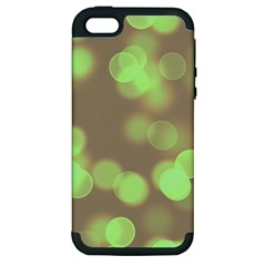 Soft Lights Bokeh 4c Apple Iphone 5 Hardshell Case (pc+silicone)