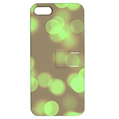 Soft Lights Bokeh 4c Apple Iphone 5 Hardshell Case With Stand