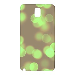 Soft Lights Bokeh 4c Samsung Galaxy Note 3 N9005 Hardshell Back Case