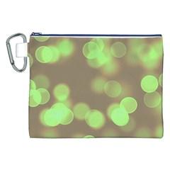 Soft Lights Bokeh 4c Canvas Cosmetic Bag (xxl)