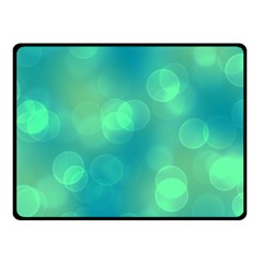 Soft Lights Bokeh 1b Fleece Blanket (small)