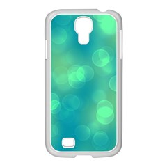 Soft Lights Bokeh 1b Samsung Galaxy S4 I9500/ I9505 Case (white)
