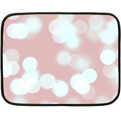 Soft Lights Bokeh 5 Fleece Blanket (mini)