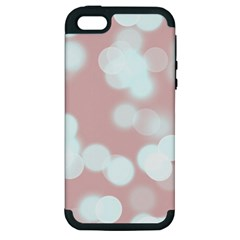 Soft Lights Bokeh 5 Apple Iphone 5 Hardshell Case (pc+silicone)