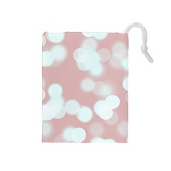 Soft Lights Bokeh 5 Drawstring Pouches (medium)
