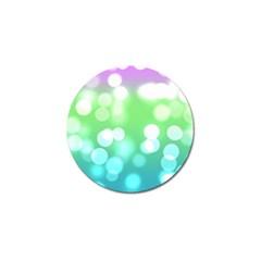 Soft Lights Bokeh 2 Golf Ball Marker (10 Pack)