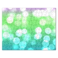 Soft Lights Bokeh 2 Rectangular Jigsaw Puzzl