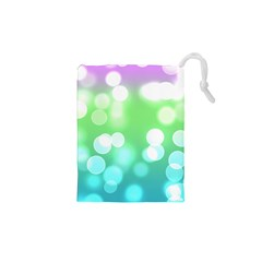 Soft Lights Bokeh 2 Drawstring Pouches (xs)