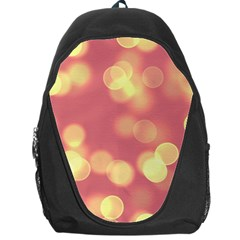 Soft Lights Bokeh 4b Backpack Bag