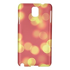 Soft Lights Bokeh 4b Samsung Galaxy Note 3 N9005 Hardshell Case