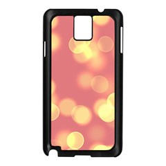 Soft Lights Bokeh 4b Samsung Galaxy Note 3 N9005 Case (black)