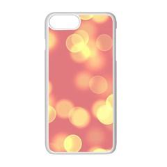 Soft Lights Bokeh 4b Apple Iphone 7 Plus Seamless Case (white)
