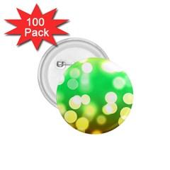 Soft Lights Bokeh 3 1 75  Buttons (100 Pack)