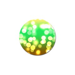 Soft Lights Bokeh 3 Golf Ball Marker