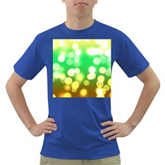 Soft Lights Bokeh 3 Dark T Shirt