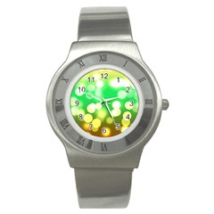 Soft Lights Bokeh 3 Stainless Steel Watch
