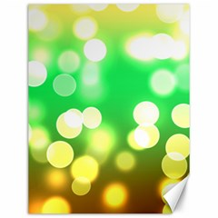 Soft Lights Bokeh 3 Canvas 12  X 16