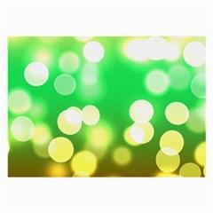 Soft Lights Bokeh 3 Large Glasses Cloth (2 Side)