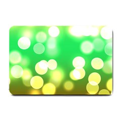 Soft Lights Bokeh 3 Small Doormat