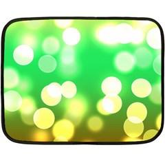 Soft Lights Bokeh 3 Fleece Blanket (mini)