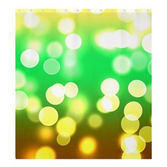 Soft Lights Bokeh 3 Shower Curtain 66  X 72  (large)