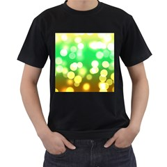 Soft Lights Bokeh 3 Men s T Shirt (black)