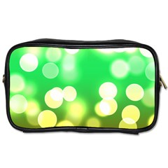 Soft Lights Bokeh 3 Toiletries Bags 2 Side