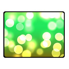 Soft Lights Bokeh 3 Fleece Blanket (small)