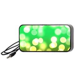 Soft Lights Bokeh 3 Portable Speaker