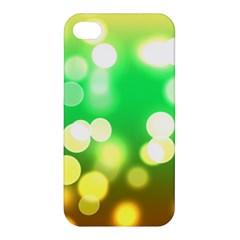 Soft Lights Bokeh 3 Apple Iphone 4/4s Premium Hardshell Case