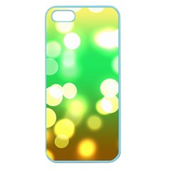Soft Lights Bokeh 3 Apple Seamless Iphone 5 Case (color)