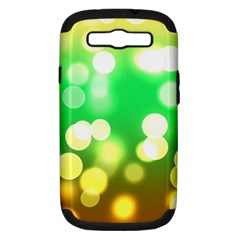 Soft Lights Bokeh 3 Samsung Galaxy S Iii Hardshell Case (pc+silicone)