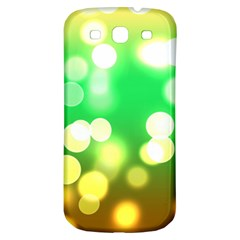 Soft Lights Bokeh 3 Samsung Galaxy S3 S Iii Classic Hardshell Back Case