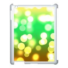 Soft Lights Bokeh 3 Apple Ipad 3/4 Case (white)