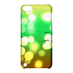 Soft Lights Bokeh 3 Apple Ipod Touch 5 Hardshell Case With Stand
