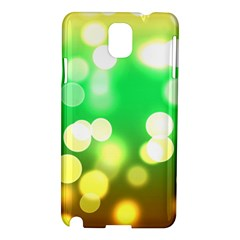 Soft Lights Bokeh 3 Samsung Galaxy Note 3 N9005 Hardshell Case