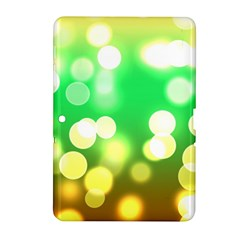 Soft Lights Bokeh 3 Samsung Galaxy Tab 2 (10 1 ) P5100 Hardshell Case
