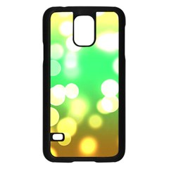 Soft Lights Bokeh 3 Samsung Galaxy S5 Case (black)