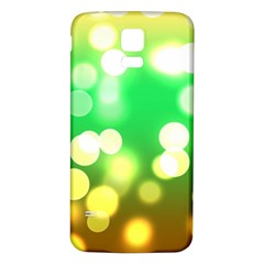 Soft Lights Bokeh 3 Samsung Galaxy S5 Back Case (white)