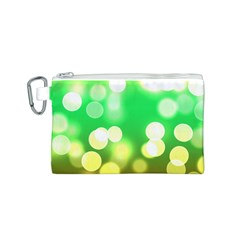 Soft Lights Bokeh 3 Canvas Cosmetic Bag (s)