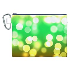 Soft Lights Bokeh 3 Canvas Cosmetic Bag (xxl)