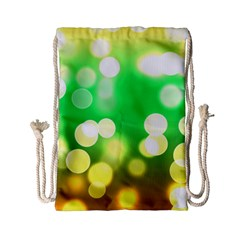 Soft Lights Bokeh 3 Drawstring Bag (small)